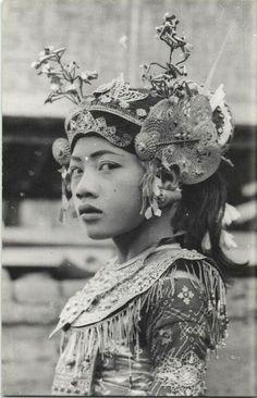 Legong Dancer, Bali - 1940