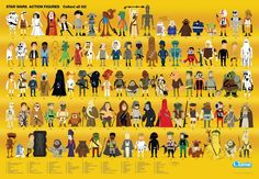 #StarWars Kenner Card Back Tribute Poster by Chris Lee #thebeastisback