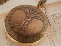 ♥ Der keltische Lebensbaum ♥ Medaillon