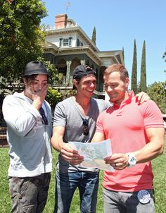 Matthew Lawrence and Andrew Lawrence Photo - Joey Lawrence Celebrates 36th Birthday With Brothers At Disneyland