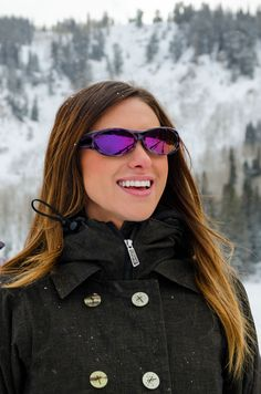 Stay active any way you can! JP now has mirror lenses in 4 different colors! Check out the Binya™ Purple Zebra (Purple Mirror)