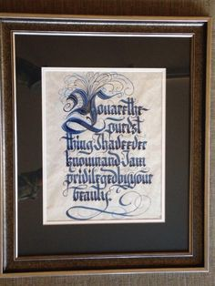 DickieJones Calligraphy
