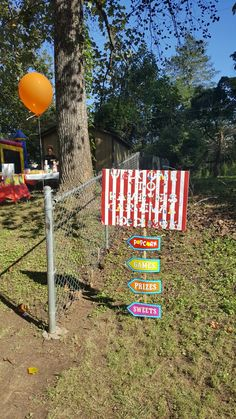 Carnival Party Signs