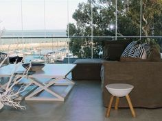 15 Gordonia - 15 Gordonia is a luxurious and modern property with wonderfully scenic views over False Bay, Table Mountain, and the beautiful ocean and the sunsets.This spacious and sunny apartment features three bedrooms;