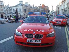 BMW Police Cars -- London