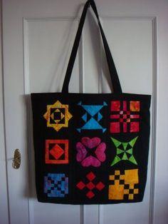 ...and a Dear Jane bag by Mary Ann in Denmark