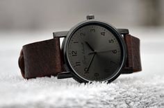 Hey, I found this really awesome Etsy listing at https://www.etsy.com/ca/listing/219162506/fathers-day-gift-watch-leather-watch