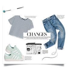 """Untitled #86"" by natural-sara-smith ❤ liked on Polyvore featuring Avenue, adidas, MANGO, Monki and ANNA"
