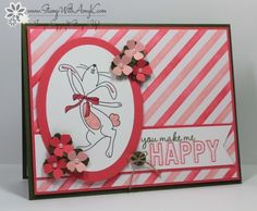Happy Easter Bunny - Stamp With Amy K