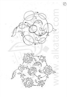 Persian Pattern, Persian Motifs, Pattern Drawing, Pattern Art, Ornament Drawing, Illumination Art, Islamic Art Pattern, Iranian Art, Turkish Art