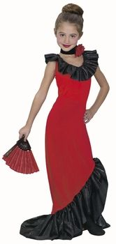 childs flamenco dancer costume