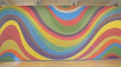 "Sol Lewitt ""Wall Drawing"" Mass MOCA"