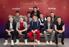 One Direction ¡y sus dobles de cera! foto
