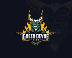 Green Devils Designed by vorbies | BrandCrowd