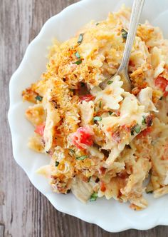 Kentucky Hot Brown Mac and Cheese by Foodtastic Mom