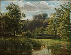 Peder Mørk Mønsted (1859-1941): Parklandskap