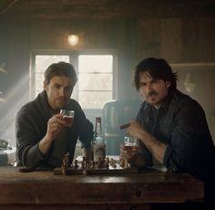 The Vampire Diaries, Vampire Diaries Wallpaper, Vampire Diaries The Originals, Nikki Reed, Damon Salvatore, Ian Somerhalder, Louisiana, How To Make Whiskey, The Salvatore Brothers