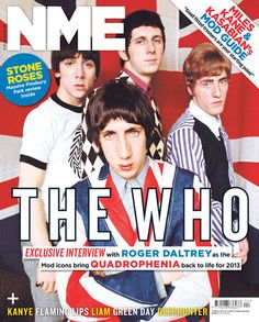 from june 2013 Punk Magazine, Nme Magazine, Magazine Covers, Rock N Roll Music, Rock And Roll, Roger Daltrey, Best Mods, Inspirational Music, The Old Days