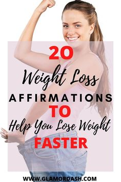 Do you have unwanted fat logs that you really want to do away with? These weight loss affirmations would speed up your weight loss journey faster than you could imagine...