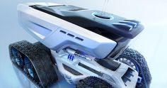 The goal of this project was to create a vehicle for the exploration of new planet. I wanted to create something special that we could see in a Science Fiction movie. I didn't tried to be 100% realistic but visualy to be credible. I have tried to give a…