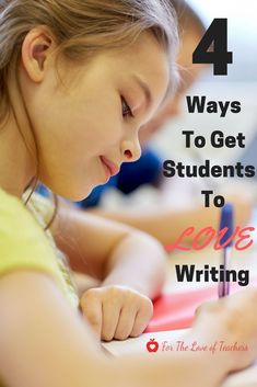 Tricks to get your students to love writing NOW! (Blog at For The Love of Teachers)