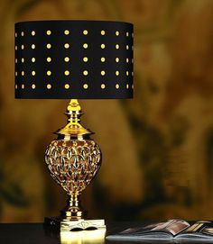 Gold Ameer Table Lamp