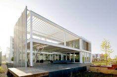 Estruturas de Aço em Projeto Residencial por Archipelontwepers   maisArquitetura