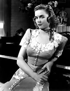 "Dorothy McGuire (1916-2001) ~ Dorothy Hackett McGuire was an American actress. She played in the movie ""A Tree Grows in Brooklyn"" 1945."