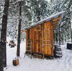 Working on a woodshed/toolshed at the cabin. I've run out of boards though, so I have to get back to the sawmill! @penniac.wilderness #shed #diy #offgrid #makersmovememt #woodshed #toolshed #sawmill #hm126 #lumber #shed Painting Galvanized Steel, Bandsaw Mill, Steel Channel, Powder Coat Paint, Kohler Engines, Water Drip, Lock Style, Wood Shed, Small Engine