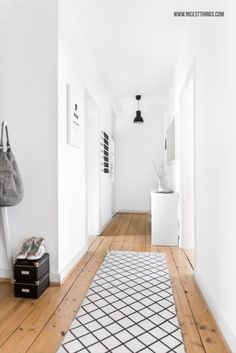 White Hallway / Ferm Living, Nomess, H&M Home, Ikea