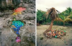 A gorgeous UNESCO World Heritage site has a serious problem with ocean trash, and artist Alejandro Durán wants to inspire us into action.