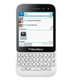 BlackBerry Q5 -QWERTY- Móvil libre (pantalla de 3,1″ 720 x 720, cámara 5 Mp, 8 GB, 2 procesadores de 1.2 GHz, 2 GB de RAM, S.O. BlackBerry OS 10), blanco