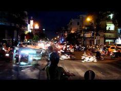 Der Verkehr funktioniert in Ho-Chi-Minh-Stadt trotz Rush-hour (scheinbar) reibunglos und entspannt.