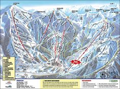 Brighton Ski Resort: Information and ski trails maps of Brighton Ski Resort, Brighton, Utah Brighton Resort, Utah Ski Resorts, Best Ski Resorts, Snowboarding Resorts, Winter Family Vacations, Area Map, Snow Skiing, Alpine Skiing