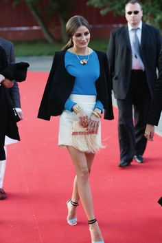 Olivia Palermo at the Carrera y Carrera 'Música' Presentation in Moscow Weekend Dresses, Weekend Outfit, Stylish Outfits, Cool Outfits, Olivia Palermo Style, Weekend Style, Fashion Books, Boutique, Vintage Outfits