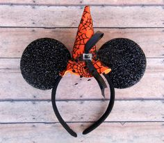 Witch Mickey Ears Halloween Mickey Ears Witch Hat Mickey by Ulous