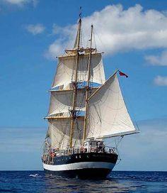 "Tall Ship, ""Pelican"" of London"