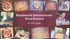 Kenilworth Food Festival Food Festival, International Recipes, Students, Ireland