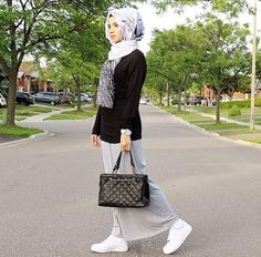 long skirts sneakers hijab - Google Search                              …