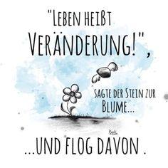 🎨 #leben heißt #veränderung 👍 sagte der 🗿#stein zur #blume 🌻 und flog #davon ☁️☀️😉✌️ #sketch #sketchclub #painting #loveit