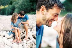 Engagement session at lake 08 1001weddings.com