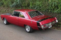 1970 DODGE DART SWINGER. I have one just like this, except B5 Blue with a white Swinger stripe. <3 <3