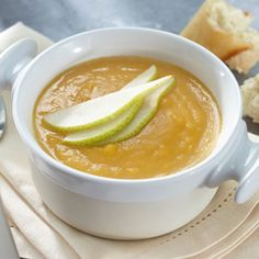 Sweet Potato, Pear and Ginger Soup