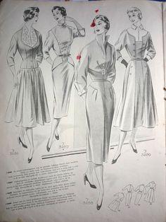 Немецкий журнал мод, 1956г. Обсуждение на LiveInternet - Российский Сервис Онлайн-Дневников