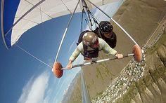 Hang Gliding Tandem Flight or Paragliding