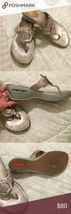 Gold Cole Haan Wedges Nike Air Awesome Cole Haan Nike Air Wedges Leather Cole Haan Shoes Wedges