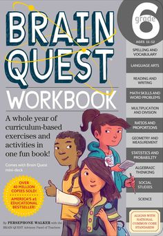 Introducing an essential addition to the 5-million-copy bestselling Brain Quest Workbook series! Finally, 6th graders can reinforce what they learn in school with a new workbook from Brain Quest. The