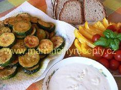 Cuketa s dressingem a zeleninou