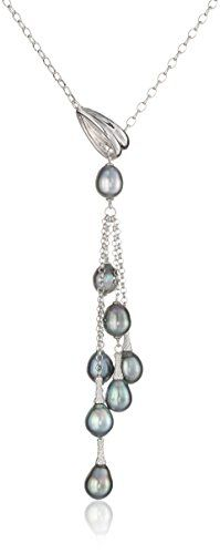 TARA Pearls Sterling Silver Natural Color Tahitian Pearl Necklace TARA Pearls http://smile.amazon.com/dp/B00OLFDKES/ref=cm_sw_r_pi_dp_DSrYvb1N2DPFD