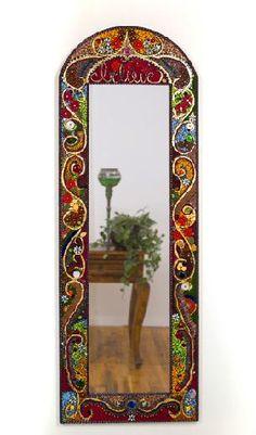 espejos con mosaico